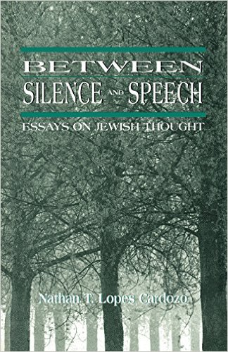 Between Silence and Speech: Essays on Jewish Thought.