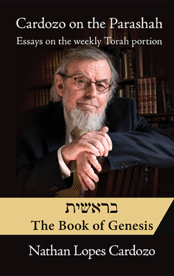 Cardozo on the Parashah: Essays on the Weekly Torah Portion