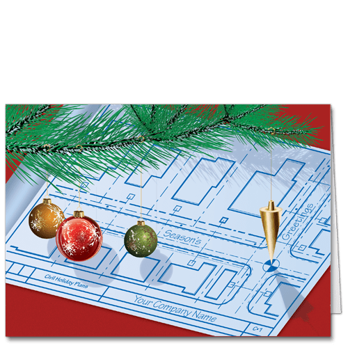Engineering Christmas Cards With Your Company Name Cardphile