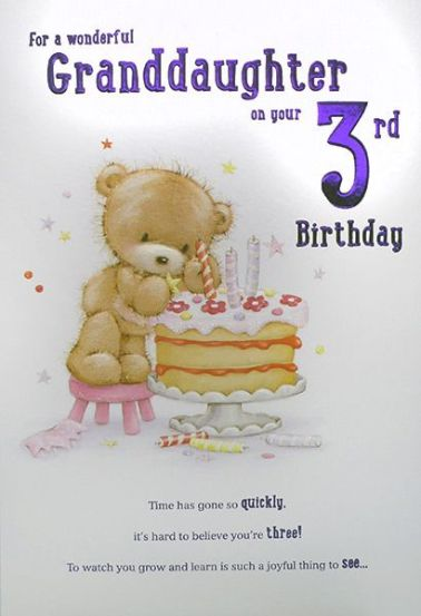 Happy 3rd Birthday Granddaughter Images