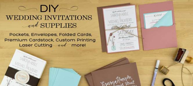Diy Invitation Kits Print Your Own Designs