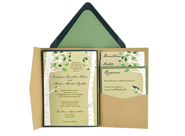 Pocket Wedding Invitation With Right Font Selection For Awesome Templates 299