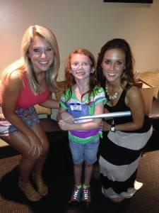 Sarah and Fox Girls