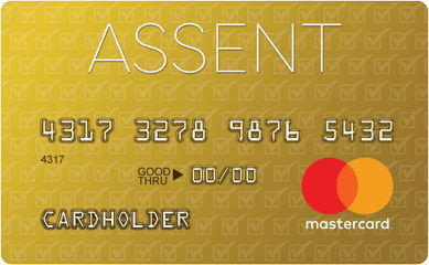 Assent Credit Card | Assent Mastercard Secured Application