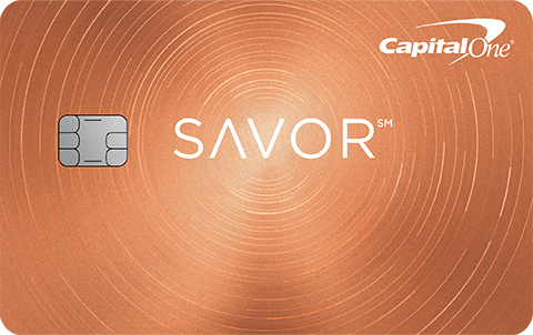 Capital one Savour Card