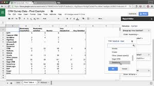 Pivot Table in Google Sheet/How To Create?
