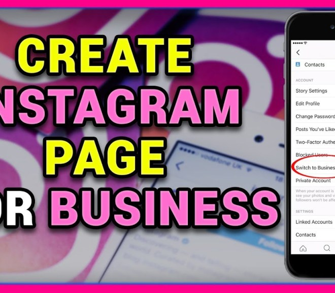 Instagram Business Page Setup