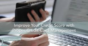 How To Manage Credit Card to Improve Credit Score