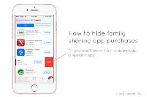 hide purchases in family sharing