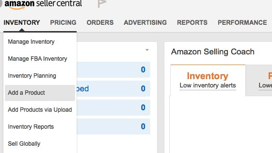 get your product listed on amazon