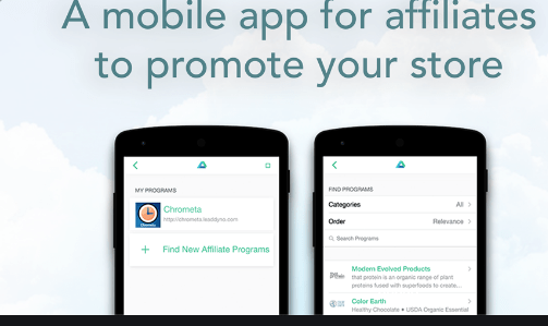 affiliate marketing mobile apps
