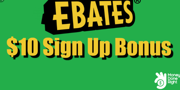 Ebates Sign up bonus – Ebates referral /referral bonus