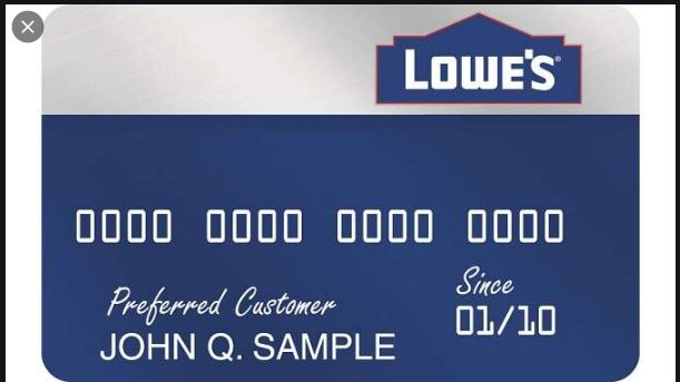 Who Issues Lowes Credit Card