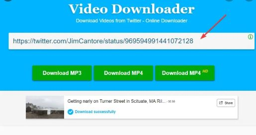 How To Download Videos Online from Twitter
