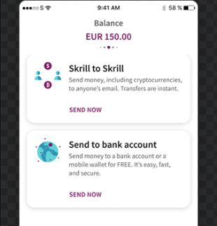 How to send money on Skrill