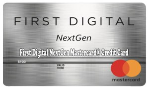 First Digital NextGen Mastercard® Credit Card - How to Apply for First Digital NextGen Credit Card