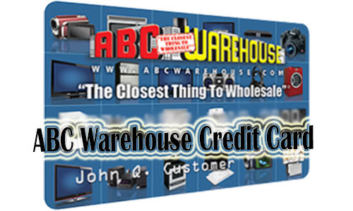 ABC Warehouse Credit Card - How to Apply