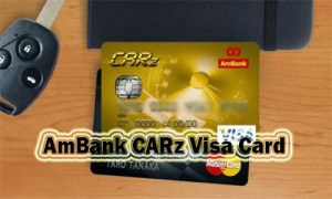 AmBank CARz Visa Card - How to Apply for AmBank CARz Visa Credit Card