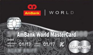 AmBank World MasterCard - How to Apply