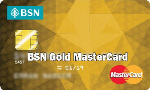 BSN Gold MasterCard - How to Apply