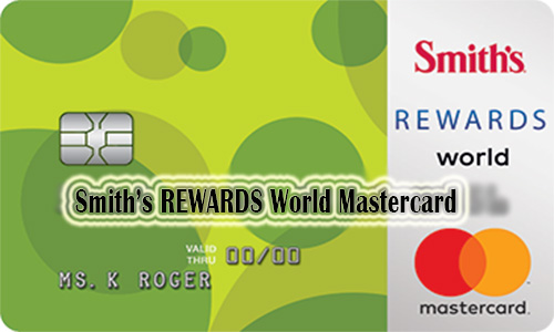 Smith's REWARDS World Mastercard® - How to Apply