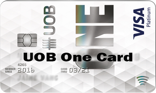 UOB One Card - How to Apply for UOB One Card