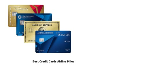 Best Credit Cards Airline Miles