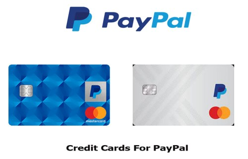 Credit Cards for PayPal