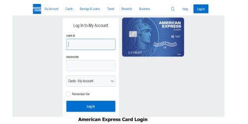 American Express Card Login