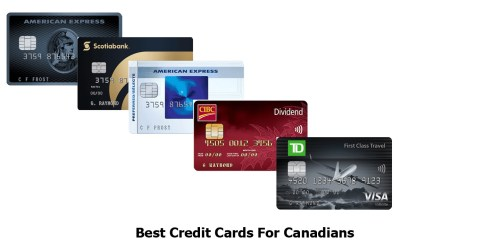 Best Credit Cards For Canadians