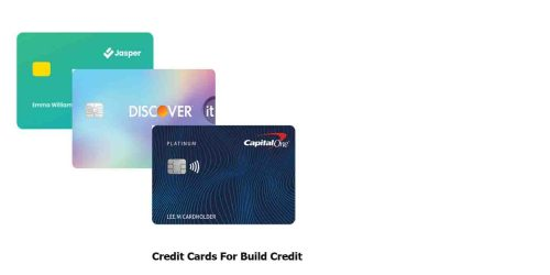 Credit Cards For Build Credit