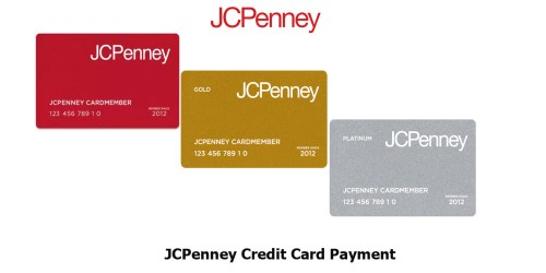 JCPenney Credit Card Payment