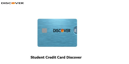 Student Credit Card Discover