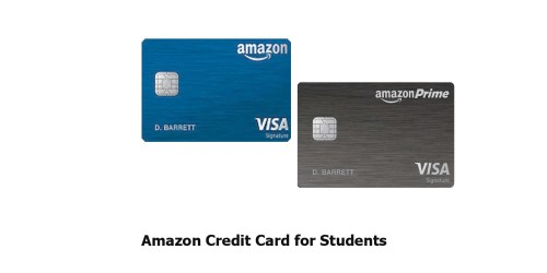 Amazon Credit Card for Students