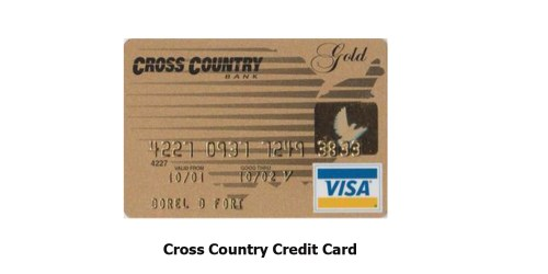 Cross Country Credit Card