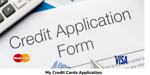 My Credit Cards Application
