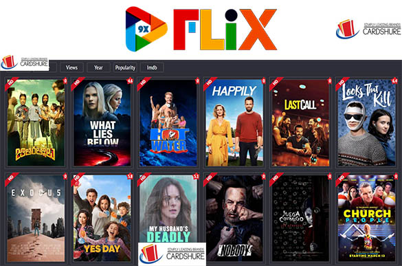 9xflix - illegal Free Hindi Dubbed Movies & Web Tv Series Website