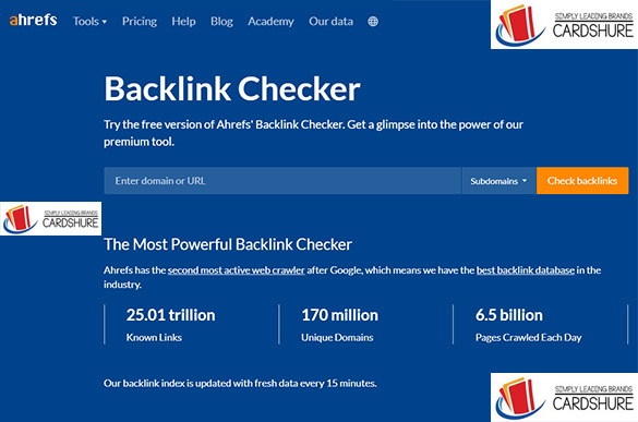 Ahrefs Back Link Checker - Free & Paid Backlink Checker Tools