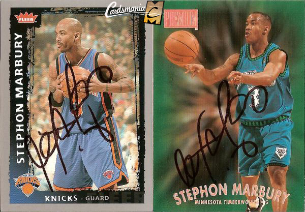 Stephon Marbury Autographs