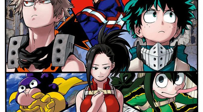 [Review] My Hero Academia Vol. 8