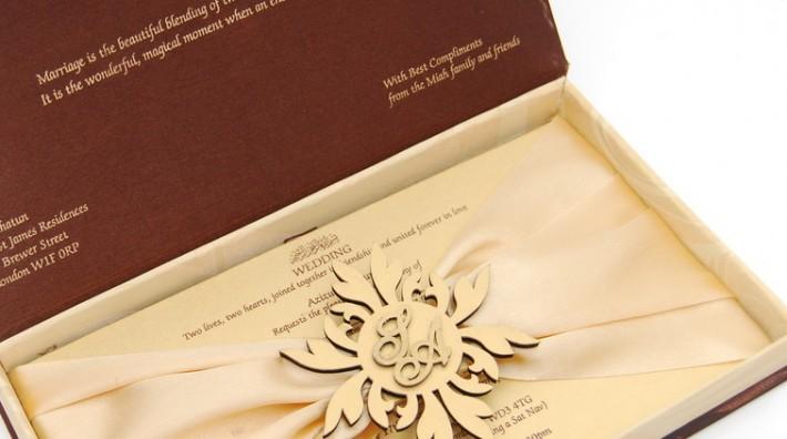Luxury Wedding Cards for Indian Asian Weddings in London UK
