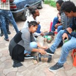 YEE Creating Awareness about Epilepsy - Shoe Shine (2)