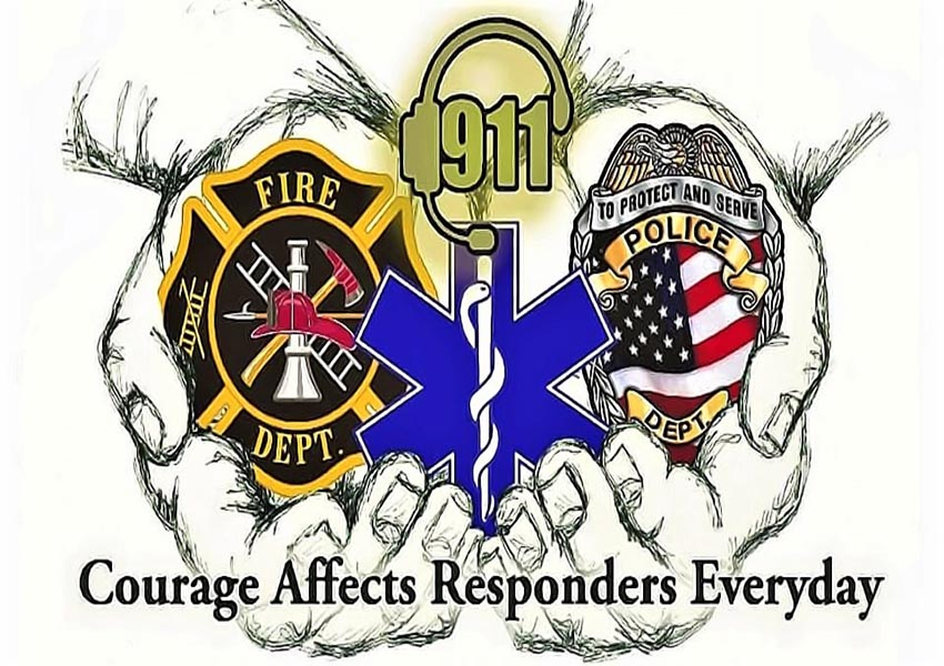 Home Page Bannor logo Courage affects responders everyday