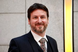 Bruce Adamson, the new Commissioner for Children and Young People whose appointment was agreed by Parliament this evening. 13 March 2017. Pic - Andrew Cowan/Scottish Parliament