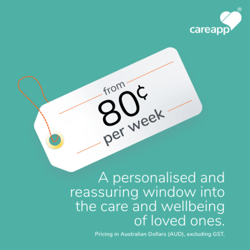 A personalised and reassuring window into the care and wellbeing of loved ones