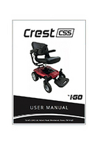 I-Go Crest CSS Suspension Electric Wheelchair, Powerchairs