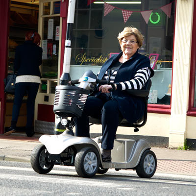 CareCo Victory Pavement Mobility Scooter for Effortless