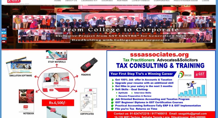 Tax Consulting and Training Center Hyderabad