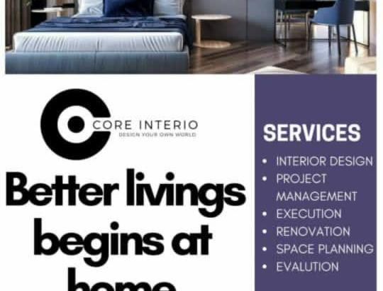 Core Interior(Design Your Own Word)