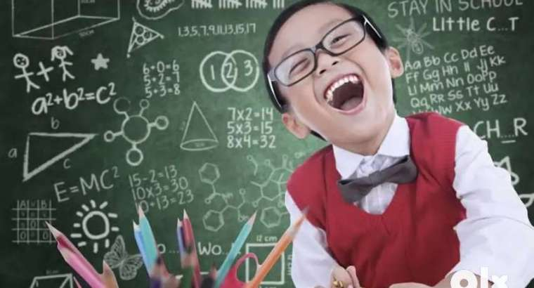 Online Tuition for 1st to 5th standard
